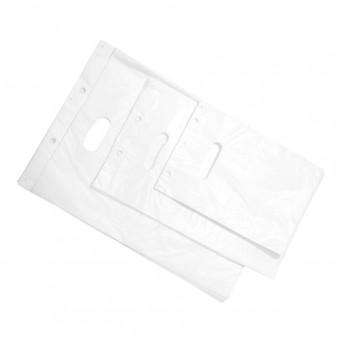 Billige Plastbæreposer hvid HDPE