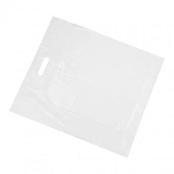 Hvide Plastbæreposer LDPE