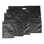 Metalgrå Plastbæreposer LDPE